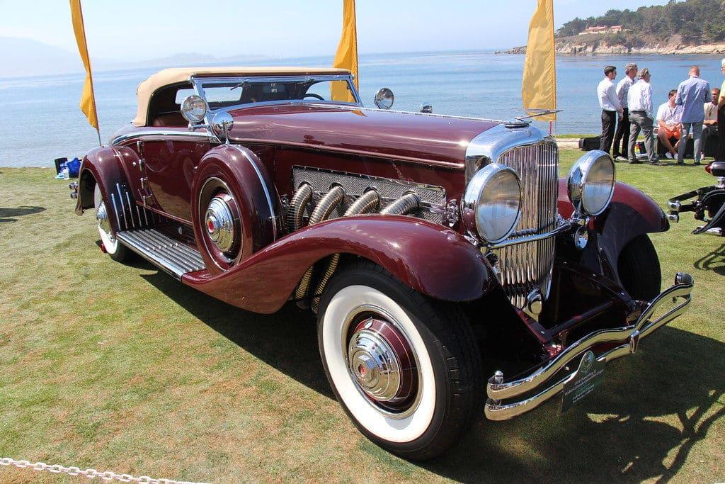 1934 Duesenberg Model SJ Walker La-Grande Convertible Coupe