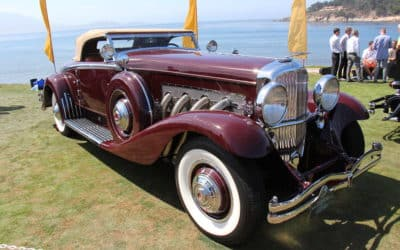 1934 Duesenberg Model SJ Walker La-Grande Convertible Coupe