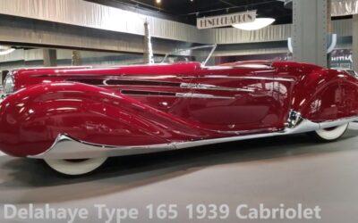 Delahaye Type 165 1939 Cabriolet