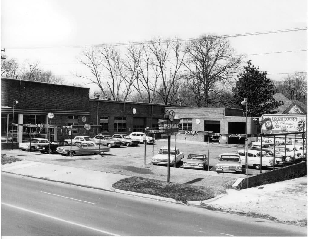 Wellborn Musclecar Museum former dealership